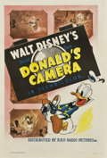 "Movie Posters:Animated, Donald's Camera (RKO, 1941). One Sheet (27"" X 41"")...."