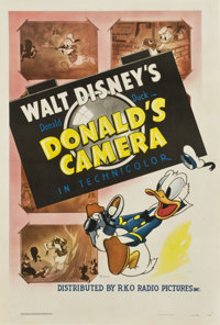 "Donald's Camera (RKO, 1941). One Sheet (27"" X 41"")"