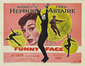 "Movie Posters:Romance, Funny Face (Paramount, 1957). Half Sheet (22"" X 28"")...."