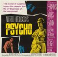 "Movie Posters:Hitchcock, Psycho (Paramount, 1960). Six Sheet (81"" X 81"")...."