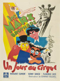 "Movie Posters:Comedy, At The Circus (MGM, 1939). French Grande (47"" X 63"")...."