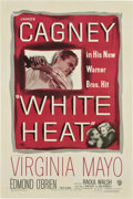 "Movie Posters:Film Noir, White Heat (Warner Brothers, 1949). One Sheet (27"" X 41"")...."