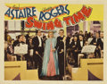 "Movie Posters:Musical, Swing Time (RKO, 1936). Lobby Card (11"" X 14"")...."
