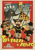 "Movie Posters:Comedy, At The Circus (MGM, 1948). Post-War Italian 2 - Folio (44"" X62"")...."