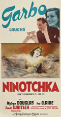 "Movie Posters:Comedy, Ninotchka (MGM, 1939). Three Sheet (41"" X 81"")...."