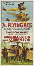 "Movie Posters:Black Films, The Flying Ace (Norman, 1926). Three Sheet (41"" X 81"")...."
