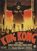"Movie Posters:Horror, King Kong (RKO, 1933). French Grande (47"" X 63"")...."
