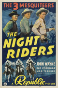 "Movie Posters:Western, The Night Riders (Republic, 1939). One Sheet (27"" X 41"")...."