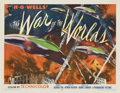"""Movie Posters:Science Fiction, The War of the Worlds (Paramount, 1953). Half Sheet (22"""" X 28"""") Style B...."""