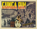 "Movie Posters:Action, Gunga Din (RKO, 1939). Half Sheet (22"" X 28"") Style B...."