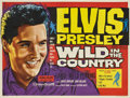 "Movie Posters:Elvis Presley, Wild in the Country (20th Century Fox,1961). British Quad (30"" X40"")...."
