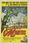 "Movie Posters:Science Fiction, The Deadly Mantis (Universal International, 1957). One Sheet (27"" X41"")...."