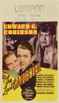 "Movie Posters:Crime, The Last Gangster (MGM, 1937). Midget Window Card (8"" X 14"")...."