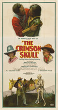 "Movie Posters:Black Films, The Crimson Skull (Norman, 1922). Three Sheet (41"" X 81"")...."
