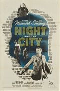 "Movie Posters:Film Noir, Night and the City (20th Century Fox, 1950). One Sheet (27"" X41"")...."