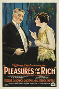 "Movie Posters:Drama, Pleasures of the Rich (Tiffany, 1926). One Sheet (27"" X 41"")...."