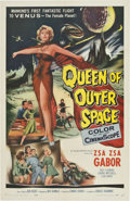 "Movie Posters:Science Fiction, Queen of Outer Space (Allied Artists, 1958). One Sheet (27"" X41"")...."