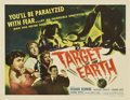"""Movie Posters:Science Fiction, Target Earth (Allied Artists, 1954). Half Sheet (22"""" X 28"""") StyleA...."""