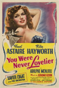"Movie Posters:Comedy, You Were Never Lovelier (Columbia, 1942). One Sheet (27"" X 41"") Style B...."