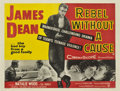 "Movie Posters:Drama, Rebel Without a Cause (Warner Brothers, 1955). British Quad (30"" X40"")...."