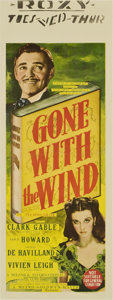 "Movie Posters:Academy Award Winner, Gone with the Wind (MGM, 1939). Australian Daybill (15"" X 40"")...."