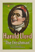 "Movie Posters:Comedy, The Freshman (Pathé, 1925). One Sheet (27"" X 41"")...."