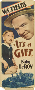 "Movie Posters:Comedy, It's a Gift (Paramount, 1934). Insert (14"" X 36"")...."