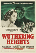 "Movie Posters:Romance, Wuthering Heights (United Artists, 1939). One Sheet (27"" X 41"")...."