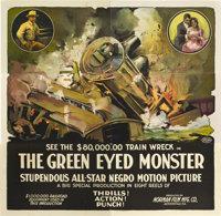 "The Green Eyed Monster (Norman, 1919). Six Sheet (81"" X 81"")"