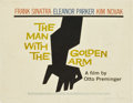 "Movie Posters:Drama, The Man With the Golden Arm (United Artists, 1955). Half Sheet (22""X 28"") Style A...."