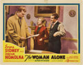 "Movie Posters:Hitchcock, The Woman Alone (Gaumont, 1937). Lobby Card (11"" X 14"") Also knownas Sabotage...."
