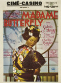 "Movie Posters:Drama, Madame Butterfly (Paramount, 1932). Pre-War Belgian (24"" X 33"")...."