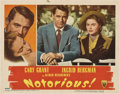 """Movie Posters:Hitchcock, Notorious (RKO, 1946). Lobby Card (11"""" X 14"""")...."""