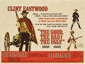 "Movie Posters:Western, The Good, The Bad and the Ugly (United Artists, 1968). British Quad(30"" X 40"")...."