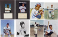 Autographs:Photos, Washington, Houston and Texas MLB Stars Signatures Lot of 30....