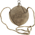 Military & Patriotic:Pre-Civil War, New York Depot Canteen with New Hampshire Infantryman's Identification. Complete Federal contract smooth-sided canteen with ...