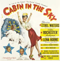 "Movie Posters:Musical, Cabin in the Sky (MGM, 1943). Six Sheet (81"" X 81"")...."