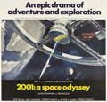 "Movie Posters:Science Fiction, 2001: A Space Odyssey (MGM, 1968). Six Sheet (81"" X 81"")...."