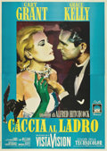 "Movie Posters:Hitchcock, To Catch a Thief (Paramount, R-1964). Italian 4 - Folio (55"" X78"")...."