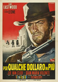 "Movie Posters:Western, For a Few Dollars More (PEA, 1965). Italian 4 - Folio (55"" X78"")...."