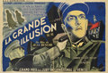 "Movie Posters:War, La Grande Illusion (R.A.C., 1937). French Double Panel (63"" X94"")...."