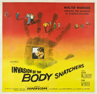 "Invasion of the Body Snatchers (Allied Artists, 1956). Six Sheet (81"" X 81"")"