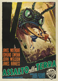 "Movie Posters:Science Fiction, Them! (Warner Brothers, 1954). Italian 4 - Folio (55"" X 78"")...."