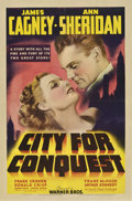 "Movie Posters:Drama, City for Conquest (Warner Brothers, 1940). One Sheet (27"" X41"")...."