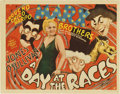 "Movie Posters:Comedy, A Day At The Races (MGM, 1937). Title Lobby Card (11"" X 14"")...."