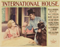 "Movie Posters:Comedy, International House (Paramount, 1933). Lobby Card (11"" X 14"")...."
