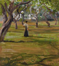 Fine Art - Painting, American:Modern  (1900 1949)  , MARTHA WALTER (American, 1875-1976). Morning at Shinnecock.Oil on canvas. 20 x 18 inches (50.8 x 45.7 cm). Signed lower...