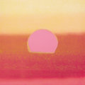 Fine Art - Painting, American:Contemporary   (1950 to present)  , ANDY WARHOL (American, 1928-1987). Sunset, 1972. Screenprinton paper. 34 x 34 inches (86.4 x 86.4 cm). Ed. 124/470. Sig...