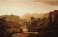 Fine Art - Painting, American:Antique  (Pre 1900), WILLIAM LOUIS SONNTAG (American, 1822-1900). Landscape withRuins. Oil on canvas. 36-1/4 x 55-7/8 inches (92 x 142 cm). ...