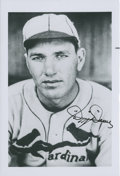 Autographs:Photos, Dizzy Dean Signed Photograph....